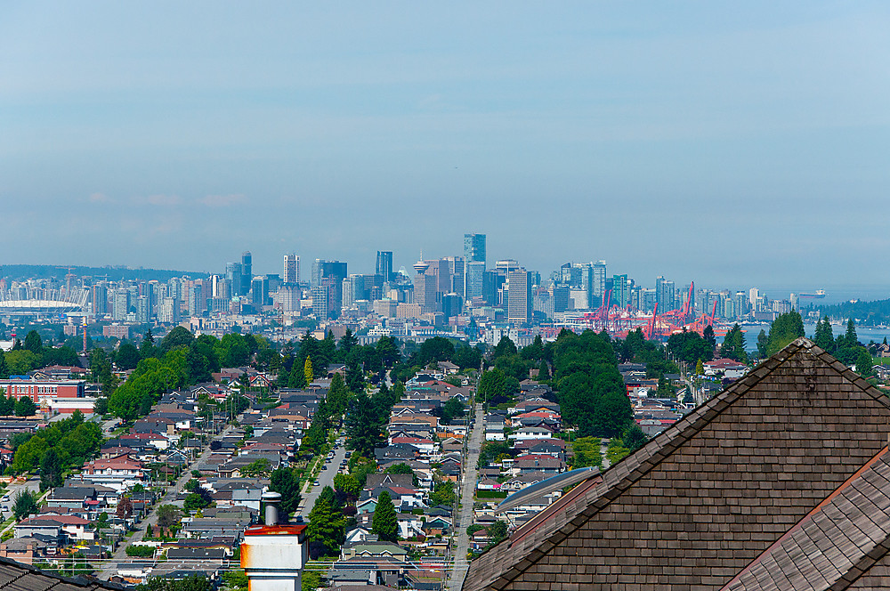 View from Capitol Hill North Burnaby